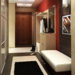 Прихожая в маленьком коридоре: секреты меблировки