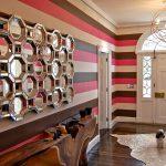 Декоративные покрытия и обои для коридора (+37 фото)