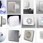 Виды вытяжных вентиляторов для коридора
