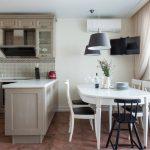 Оформление кухни-столовой в различных стилях