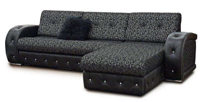 Кожаный диван для дома