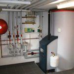 Газовый котел для отопления загородного дома.