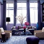 Сказочный фиолетовый цвет в интерьере