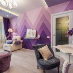 Топ-5 способов эффектно применить фиолетовый цвет в интерьере