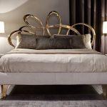 Изогнутые и уникальные элементы кровати