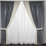 Виды портьерной ткани для штор
