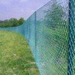 Забор из сетки Рабица и его функции